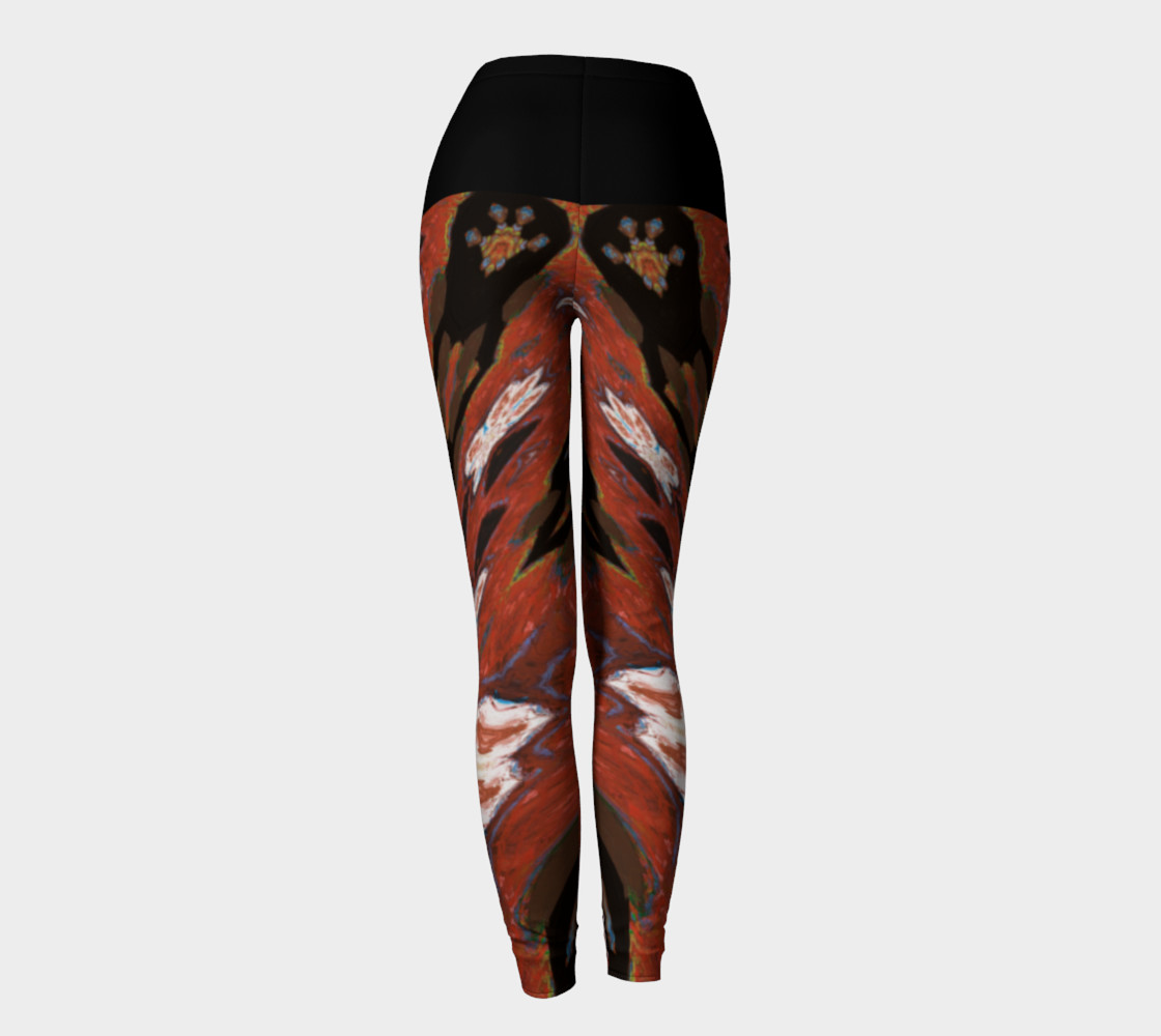 Simone Says Slimming-Action Floral Print Leggings preview #4