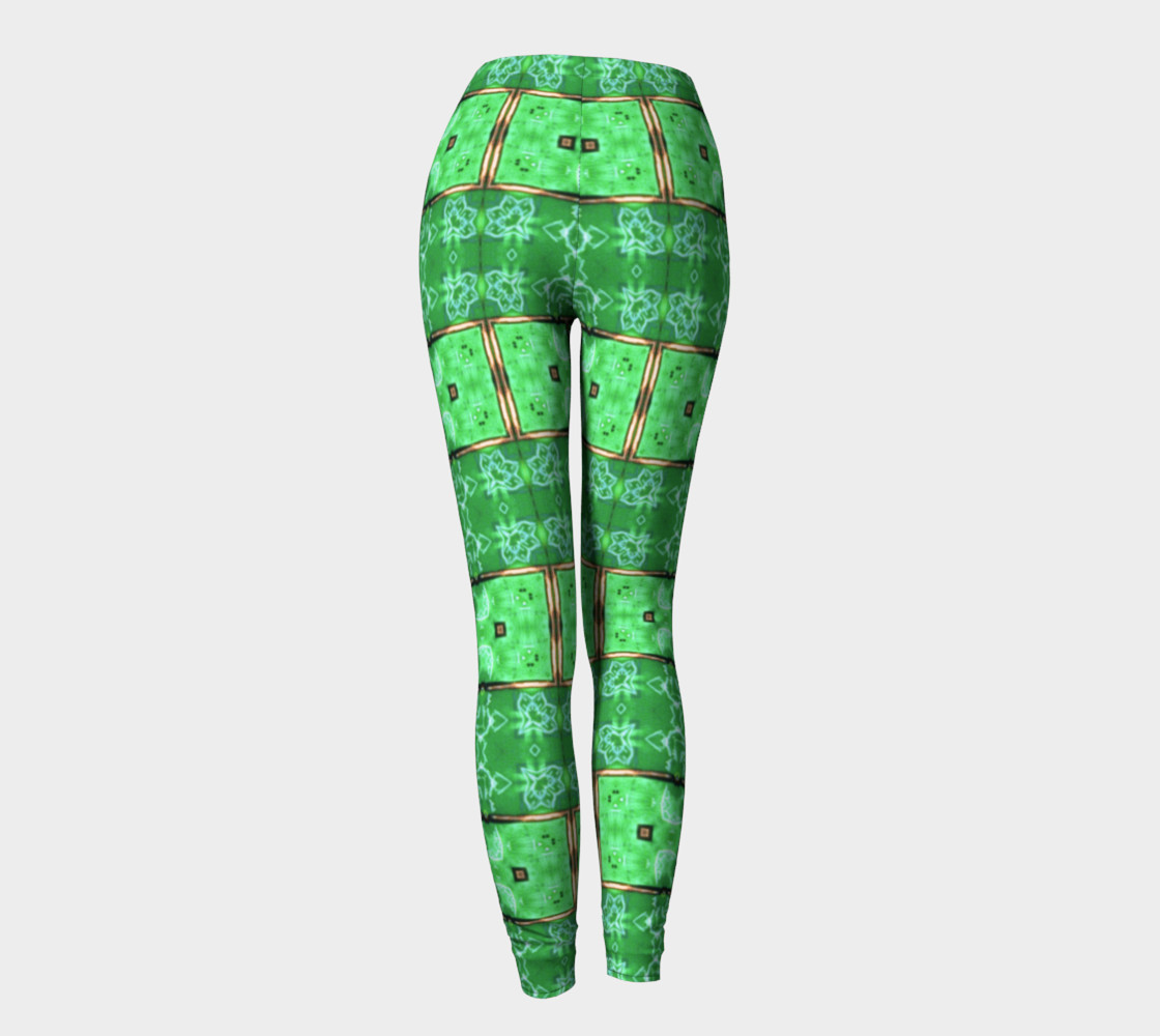 Aperçu de Emerald City Girl Shine-Time Leggings #4