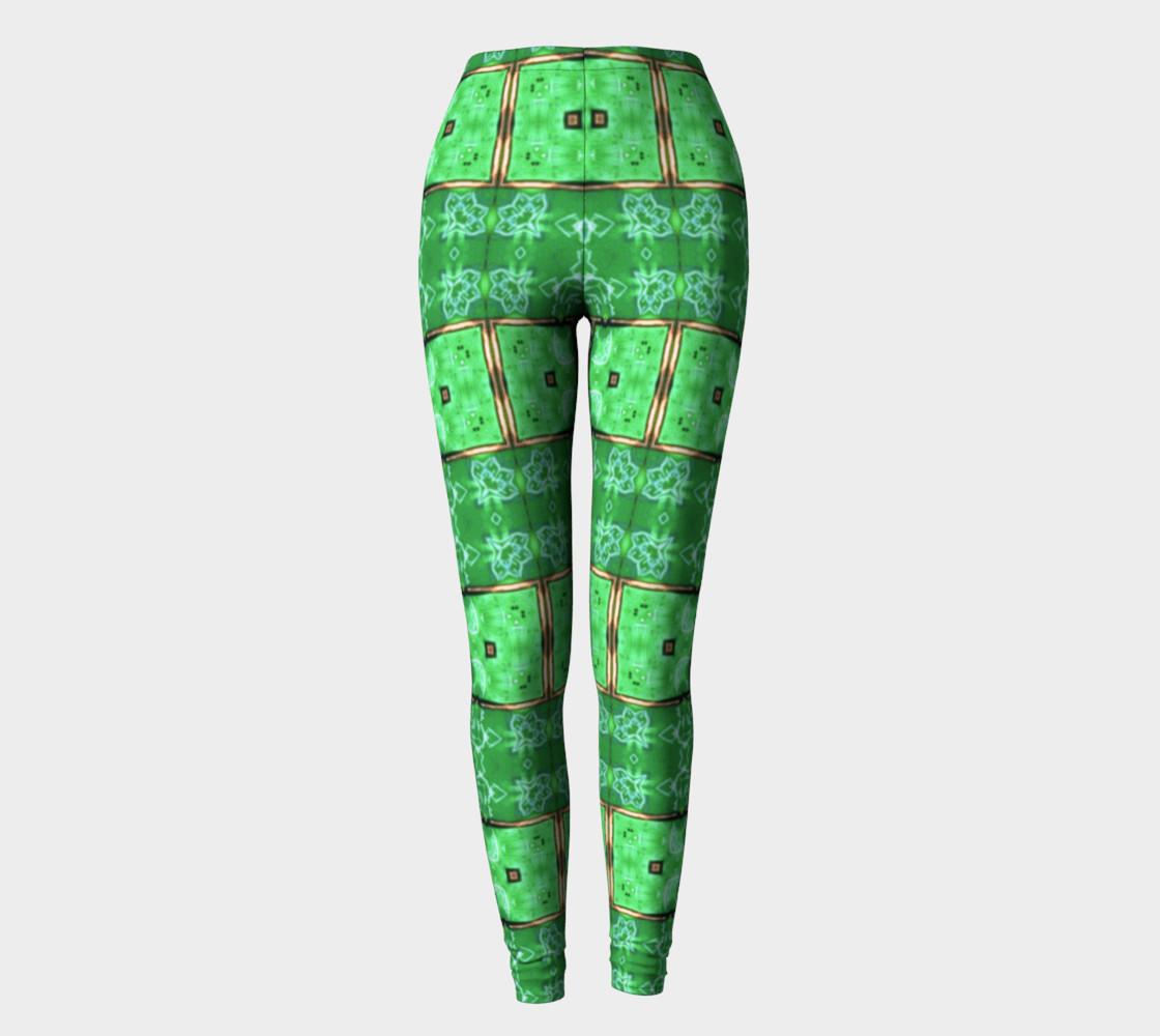 Aperçu de Emerald City Girl Shine-Time Leggings #2