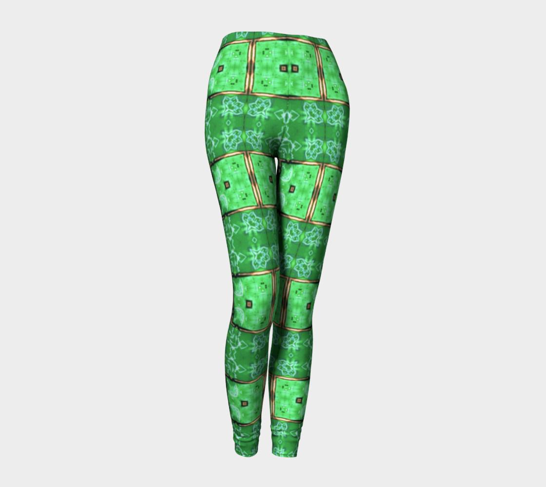 Aperçu de Emerald City Girl Shine-Time Leggings #1