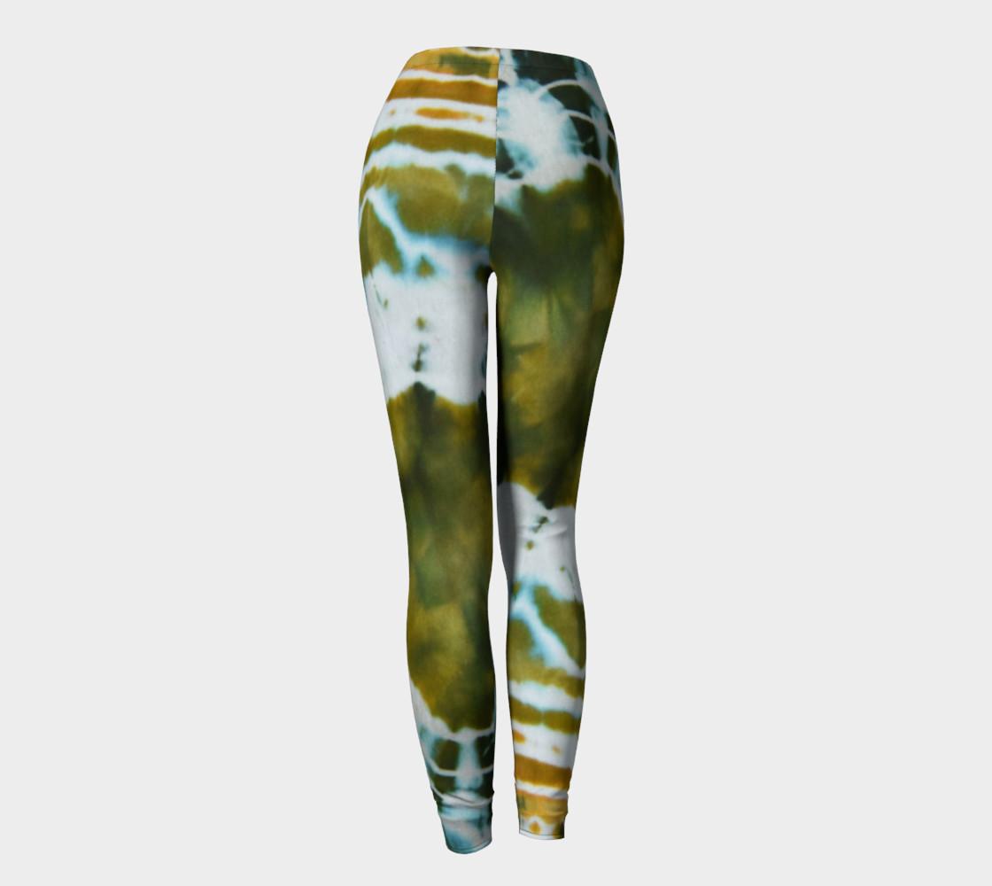 Green Geode Leggings preview #4