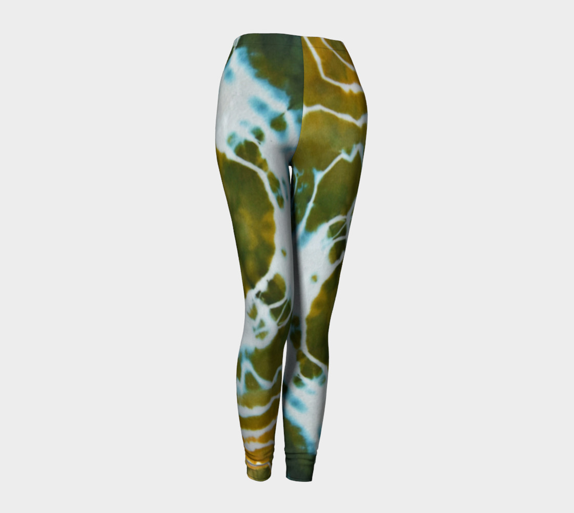 Green Geode Leggings preview #1