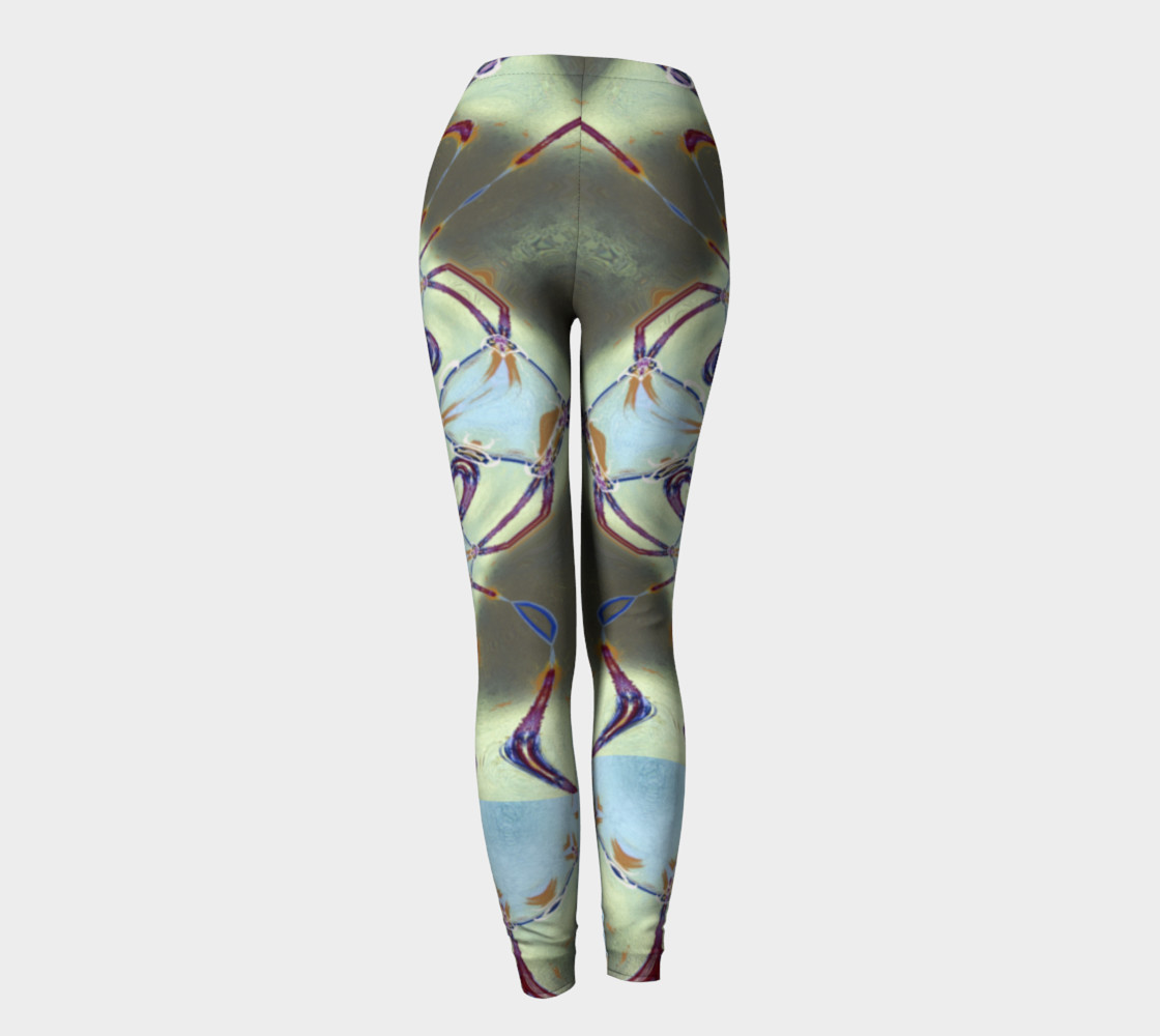 Glitter Queen Neo-Classic Pinback Leggings preview #4