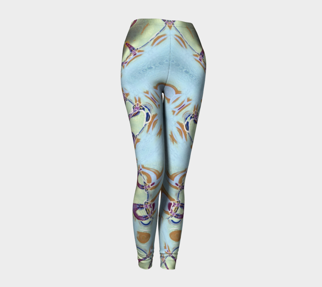 Glitter Queen Neo-Classic Pinback Leggings preview #1