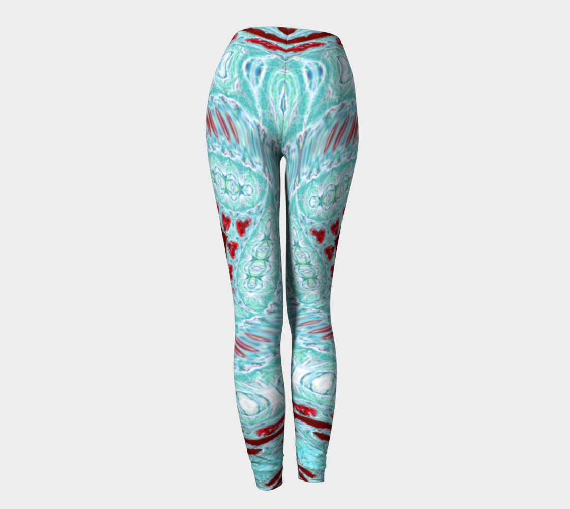 Ice Age Frosted-Hearts Leggings preview #4