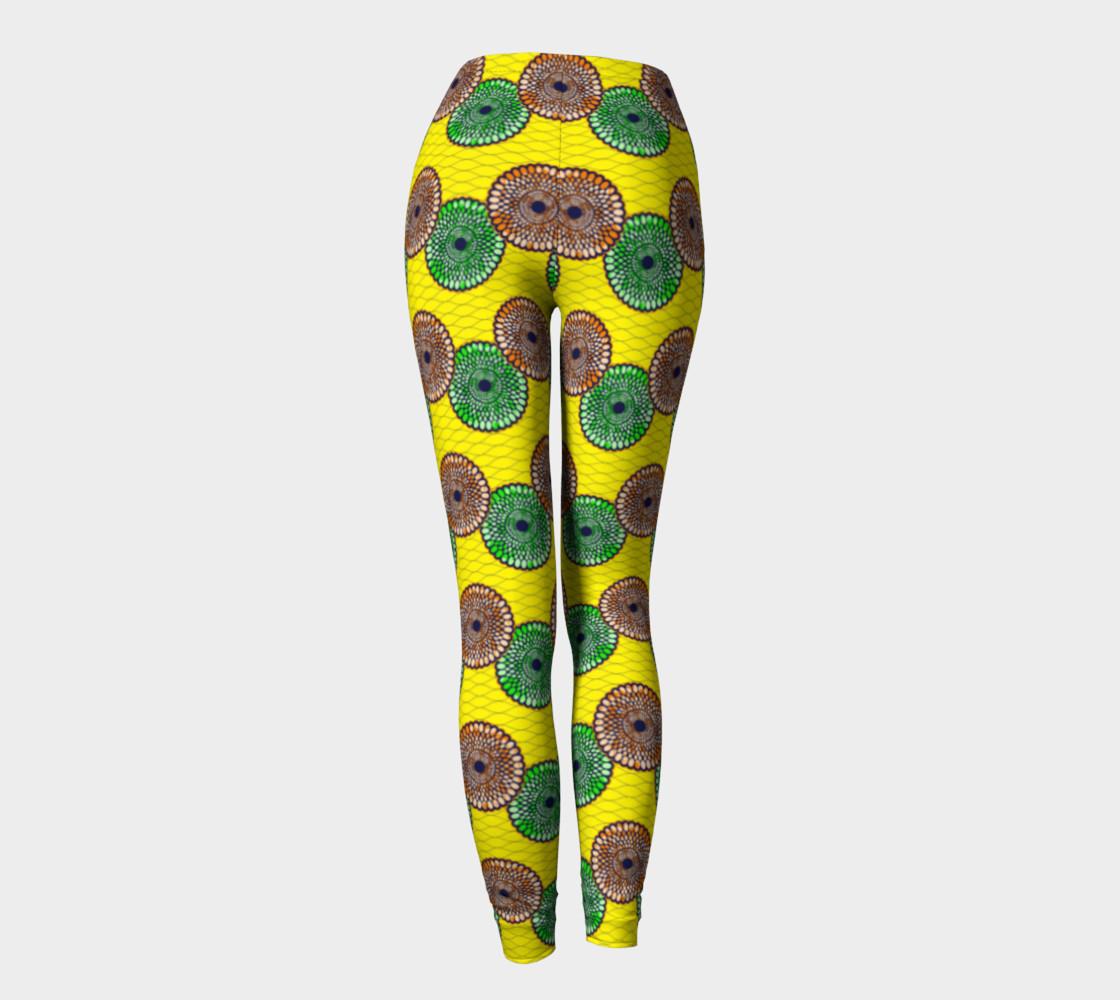 yellow leggings preview #4