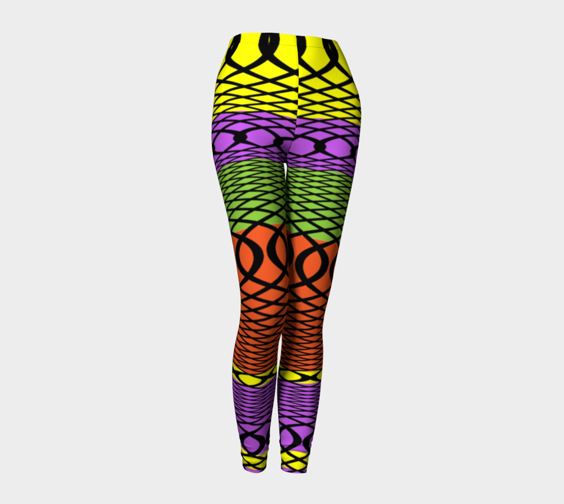 shoes for cheap arriving good service Loud Colorful Fun and Funky Leggings, Leggings by Flirting With ...