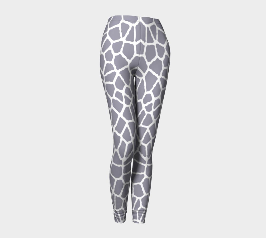 Aperçu de staklo (gray/white) leggings #1