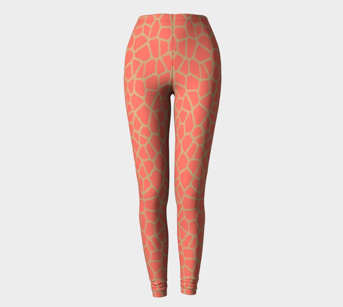 Aperçu de staklo (peach/coffee) leggings #2