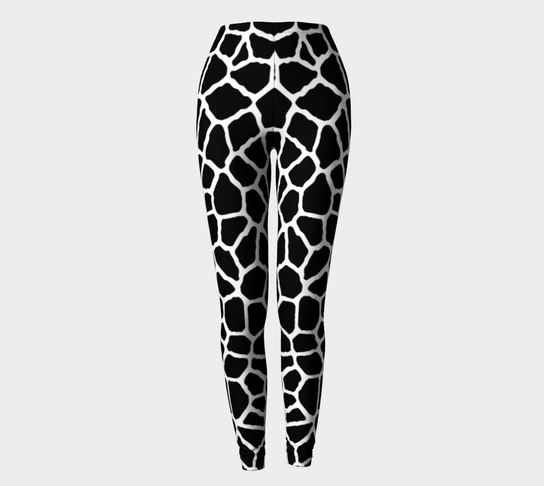 Aperçu de staklo (black/white) leggings #2