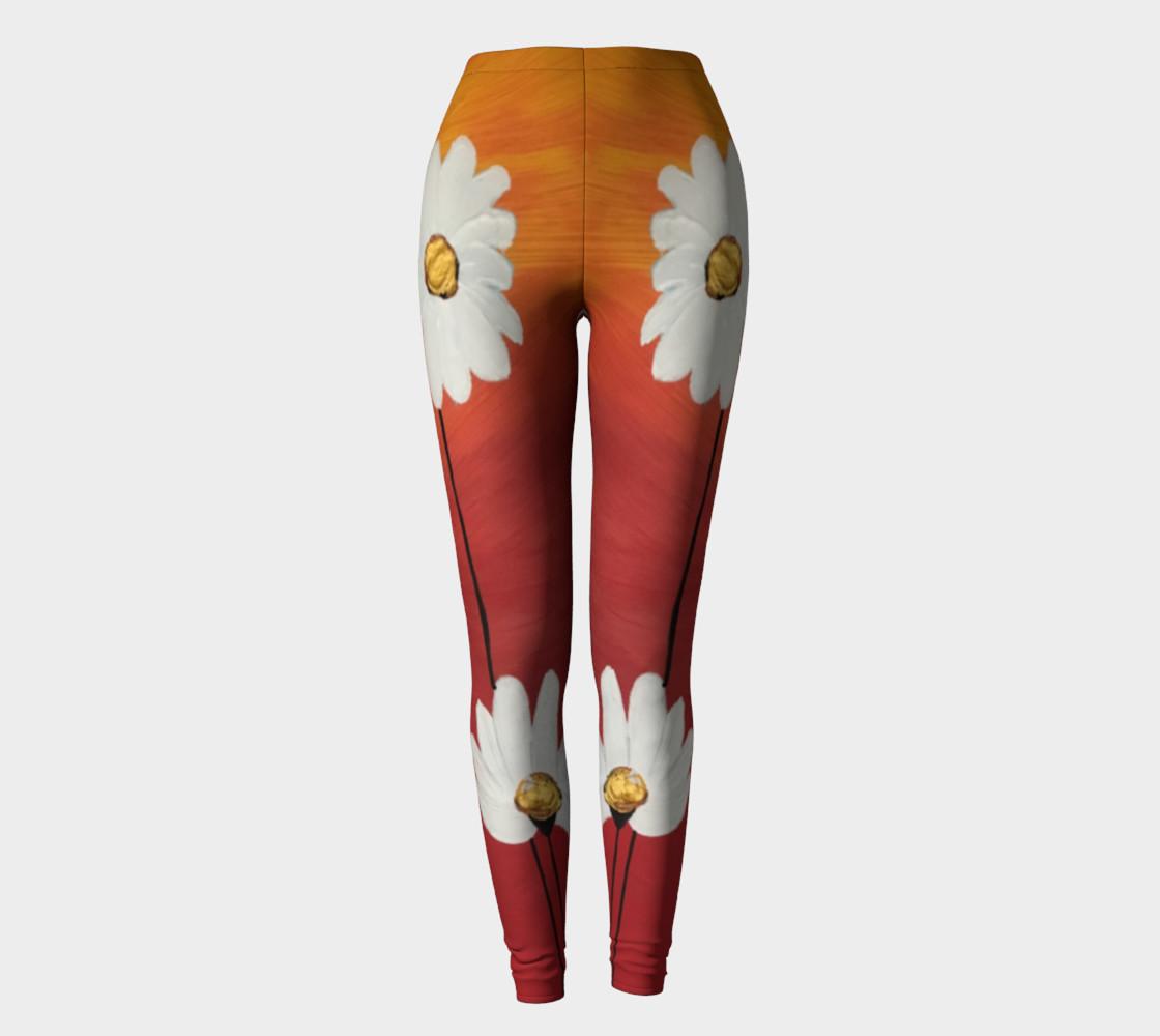 Daisy Sunset Leggings preview #2