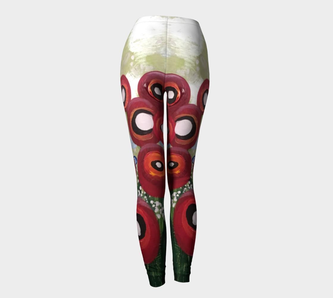 Aperçu de Whimsical Poppy Leggings #4