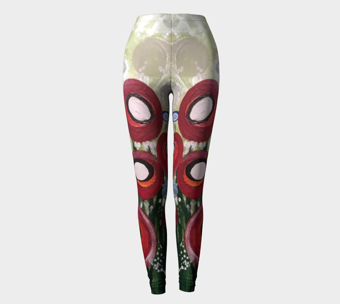 Aperçu de Whimsical Poppy Leggings #2