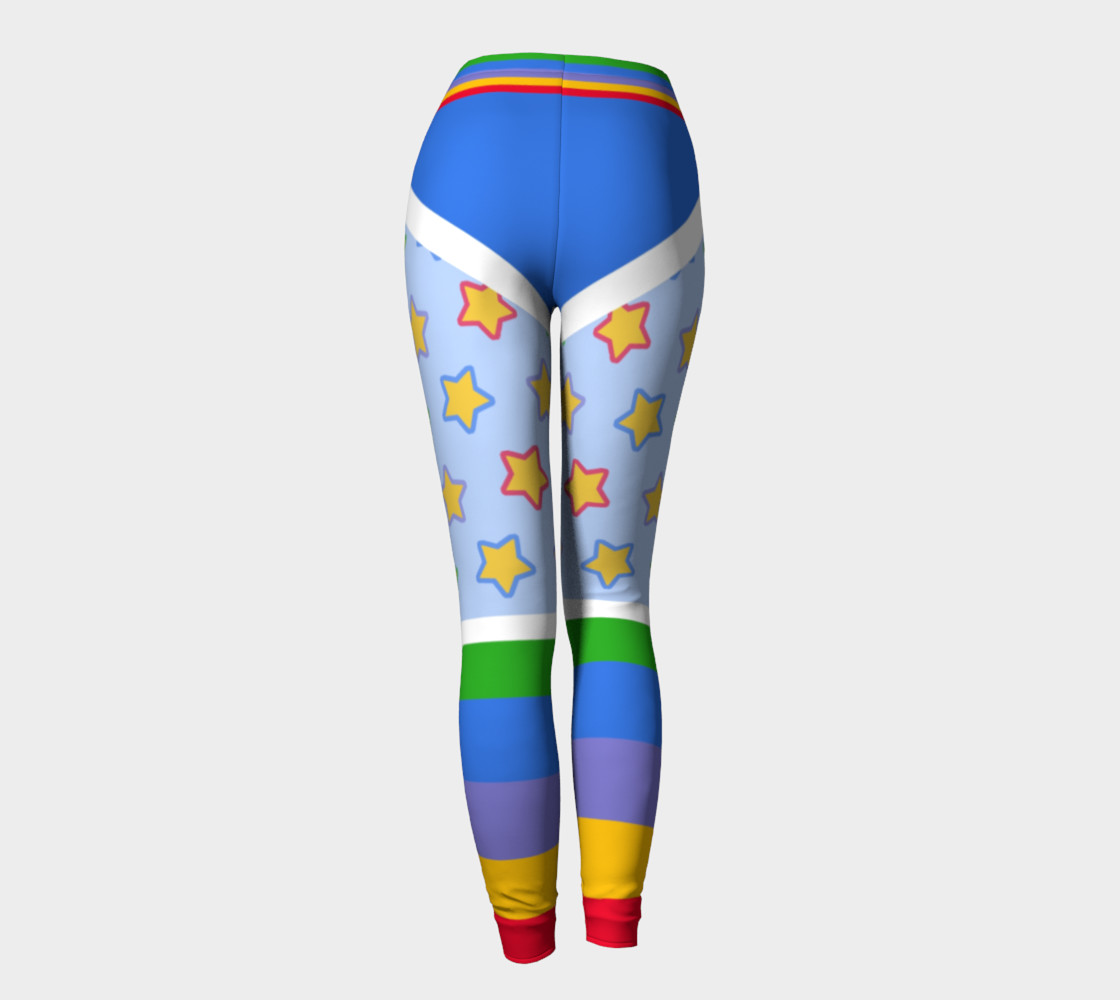 Rainbow Brite Leggings preview #4
