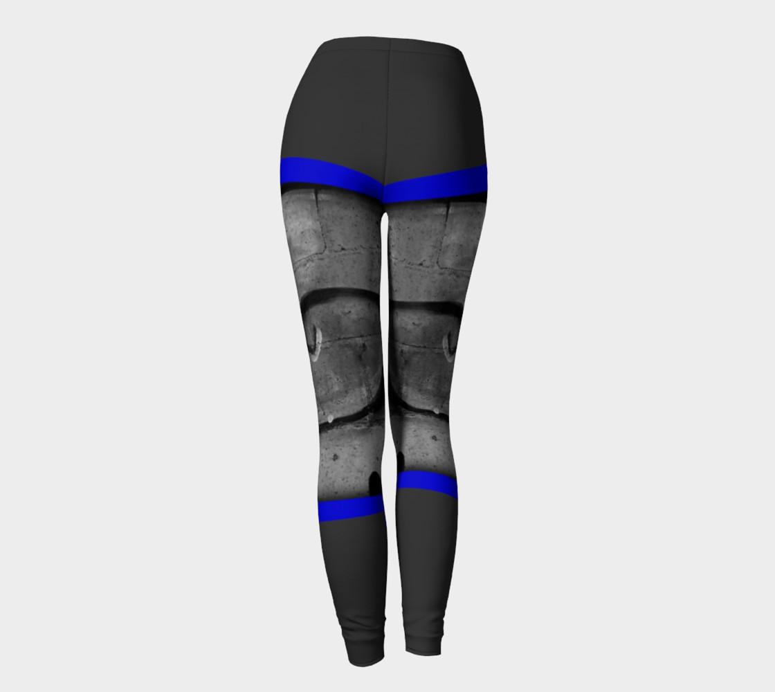 Aperçu de CHOLO - Gray/Blue - Leggings #4