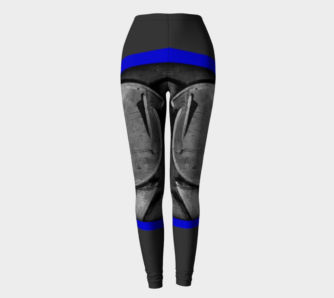 Aperçu de CHOLO - Gray/Blue - Leggings #2