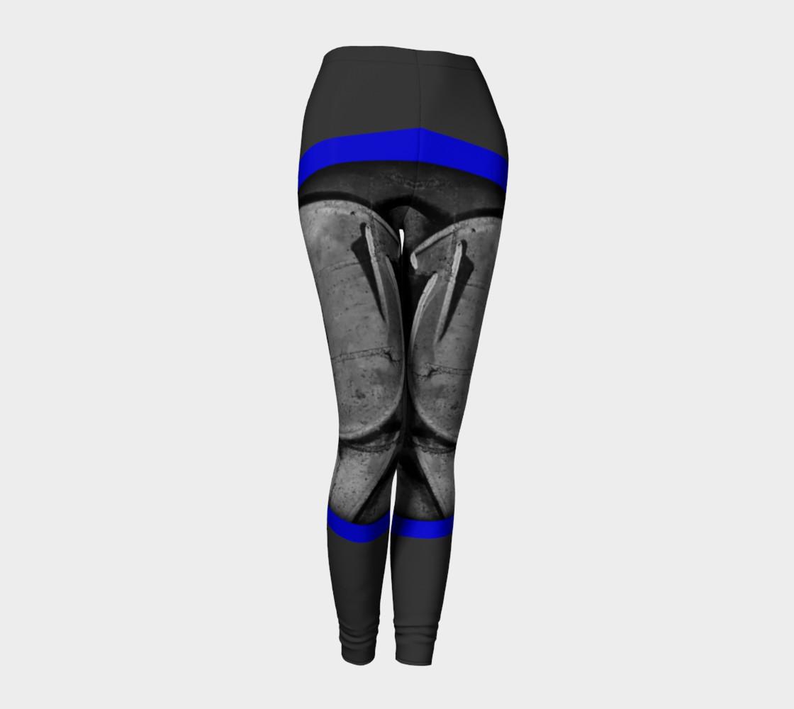Aperçu de CHOLO - Gray/Blue - Leggings #1
