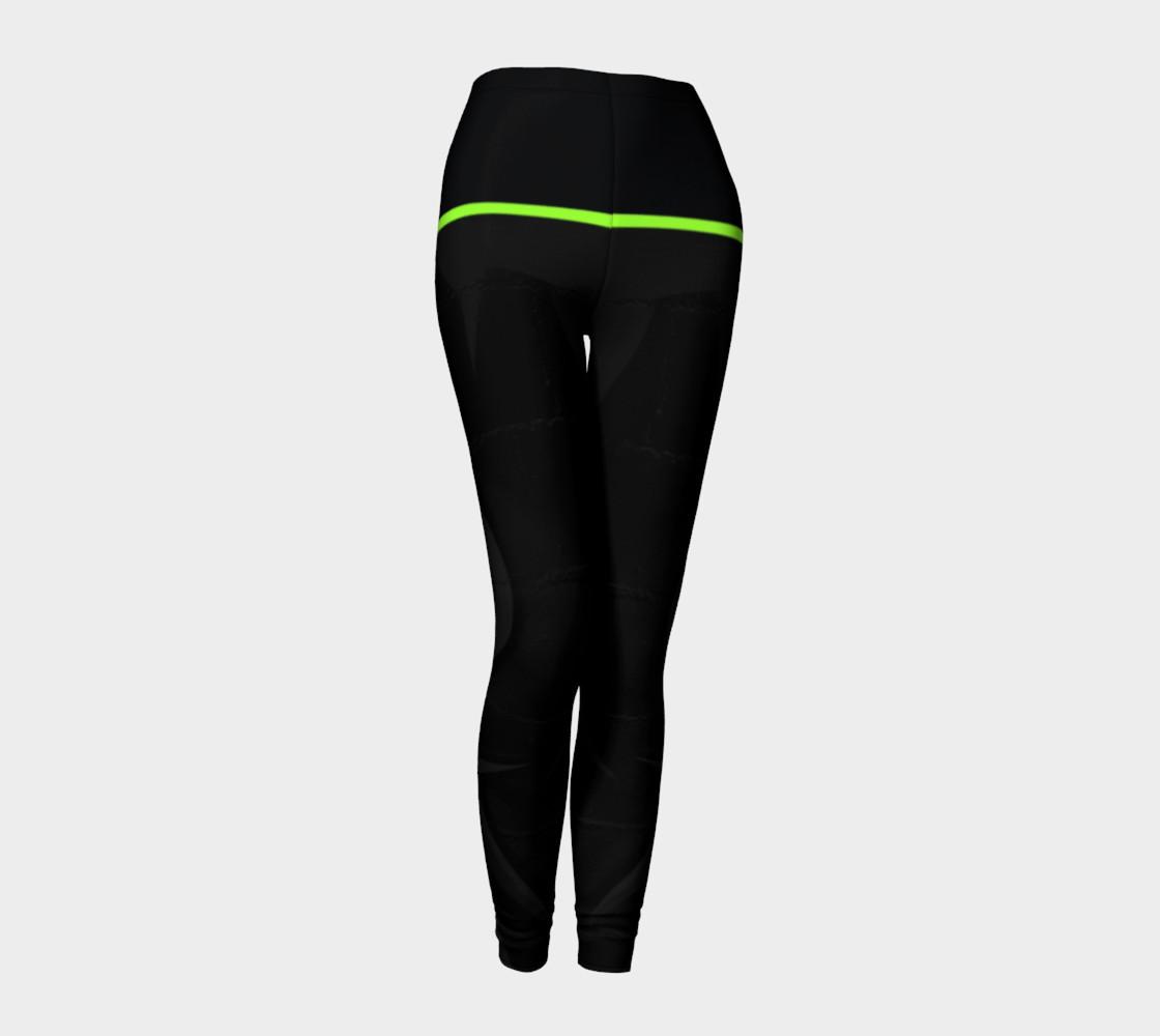 CHOLO - Charcoal/Green - Leggings preview #1