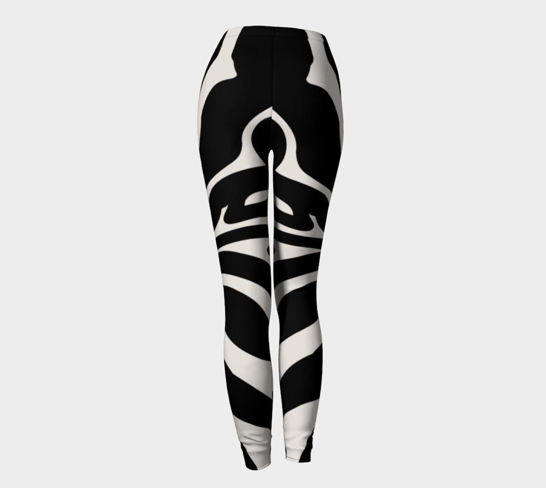 Black Zebra stripes preview #4
