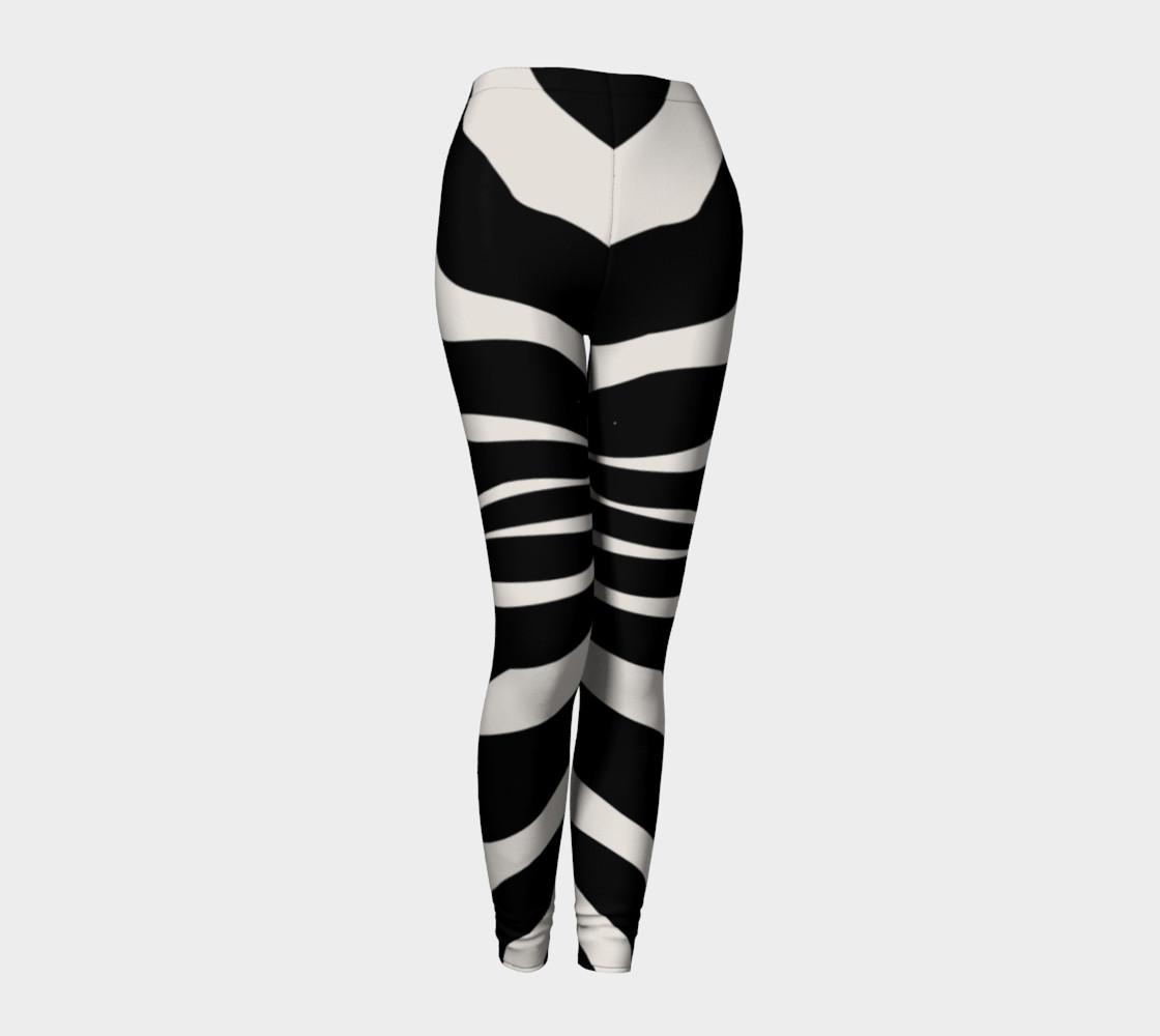 Black Zebra stripes preview #1