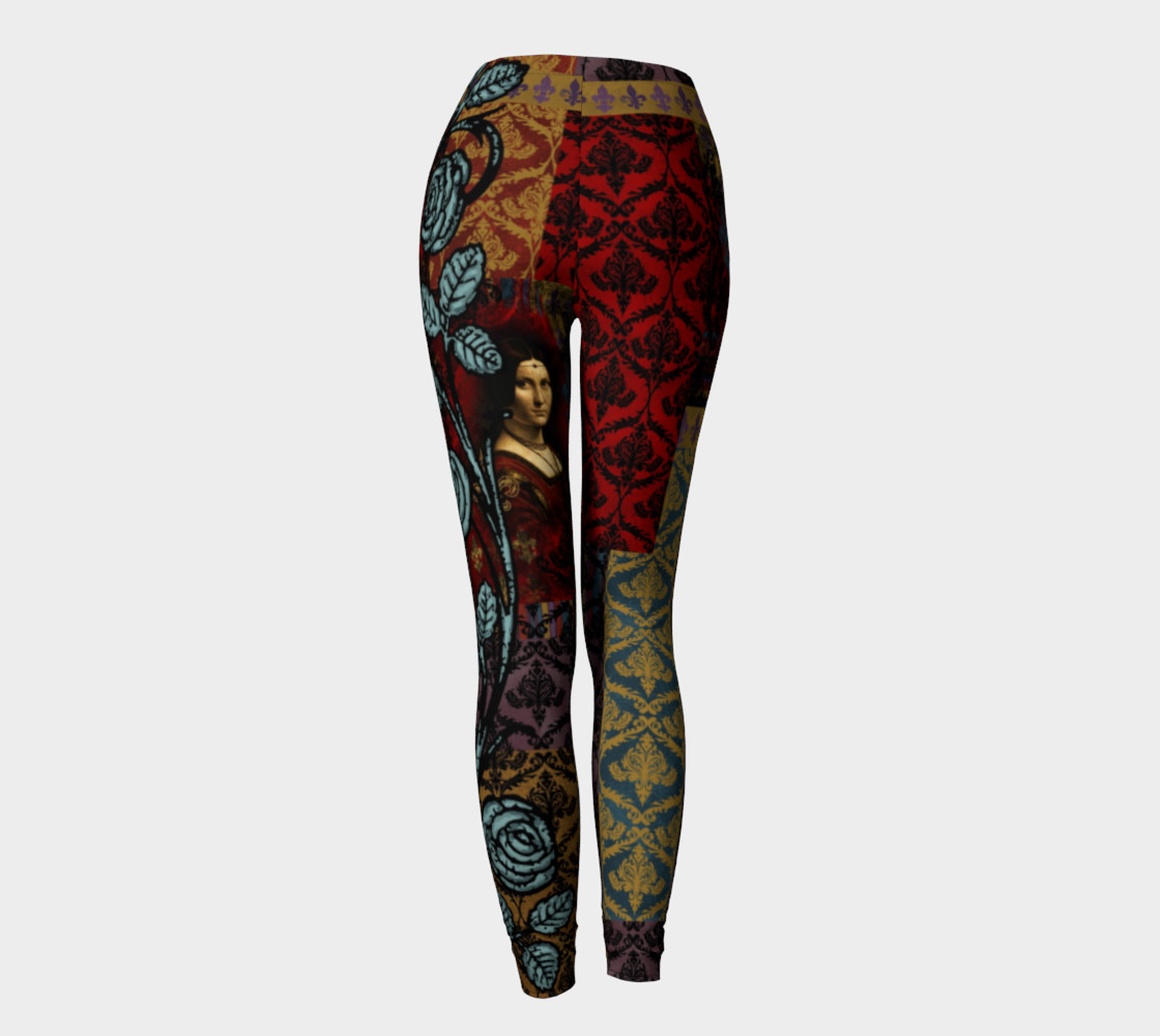 Roughly Royal da Vinci - Leggings preview #4