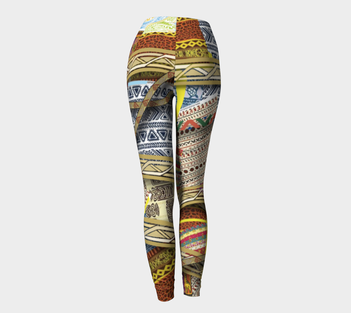 BORDER 3D Leggings  101-3 preview #4
