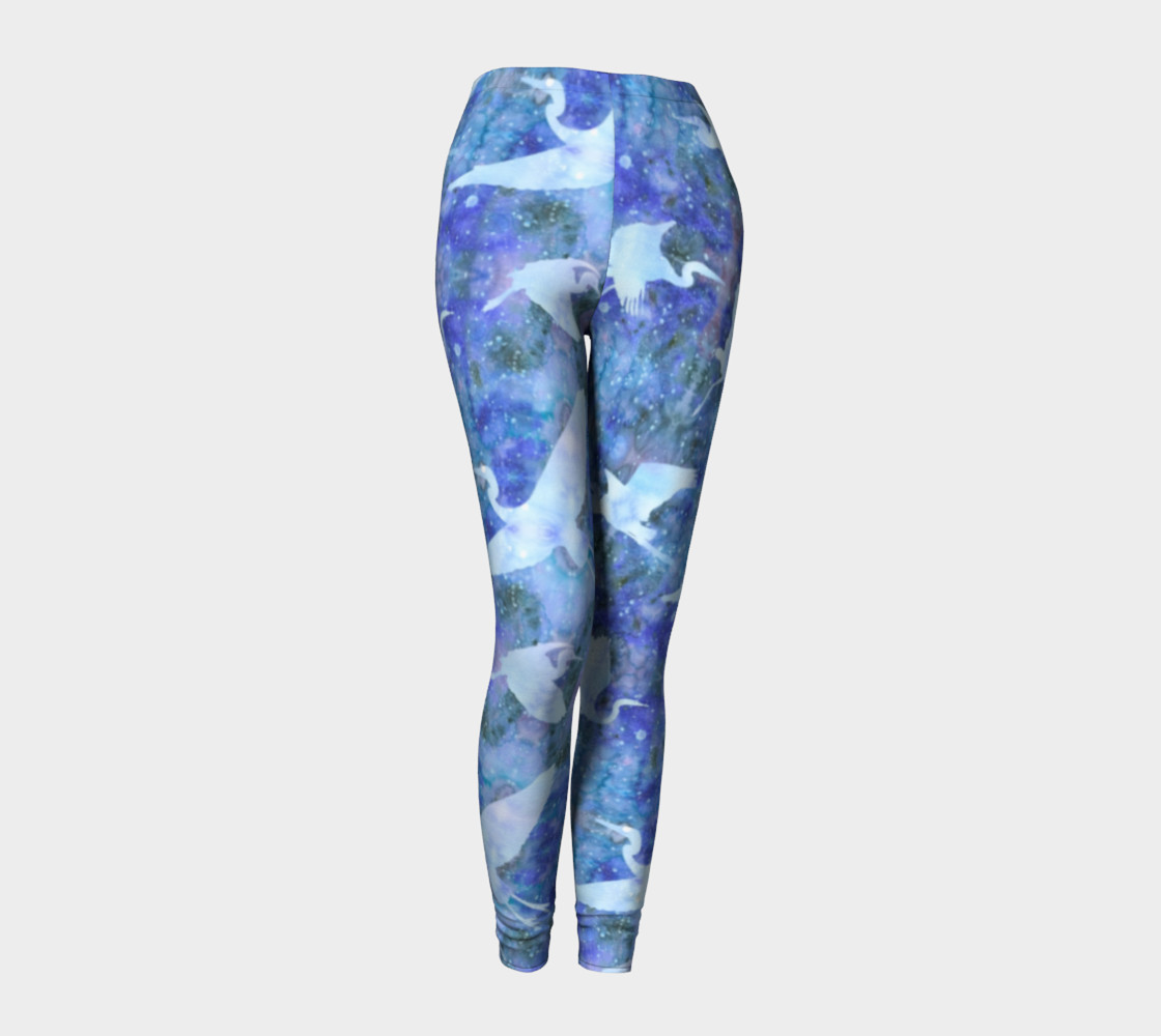 Aperçu de Starry Cranes - Leggings #1