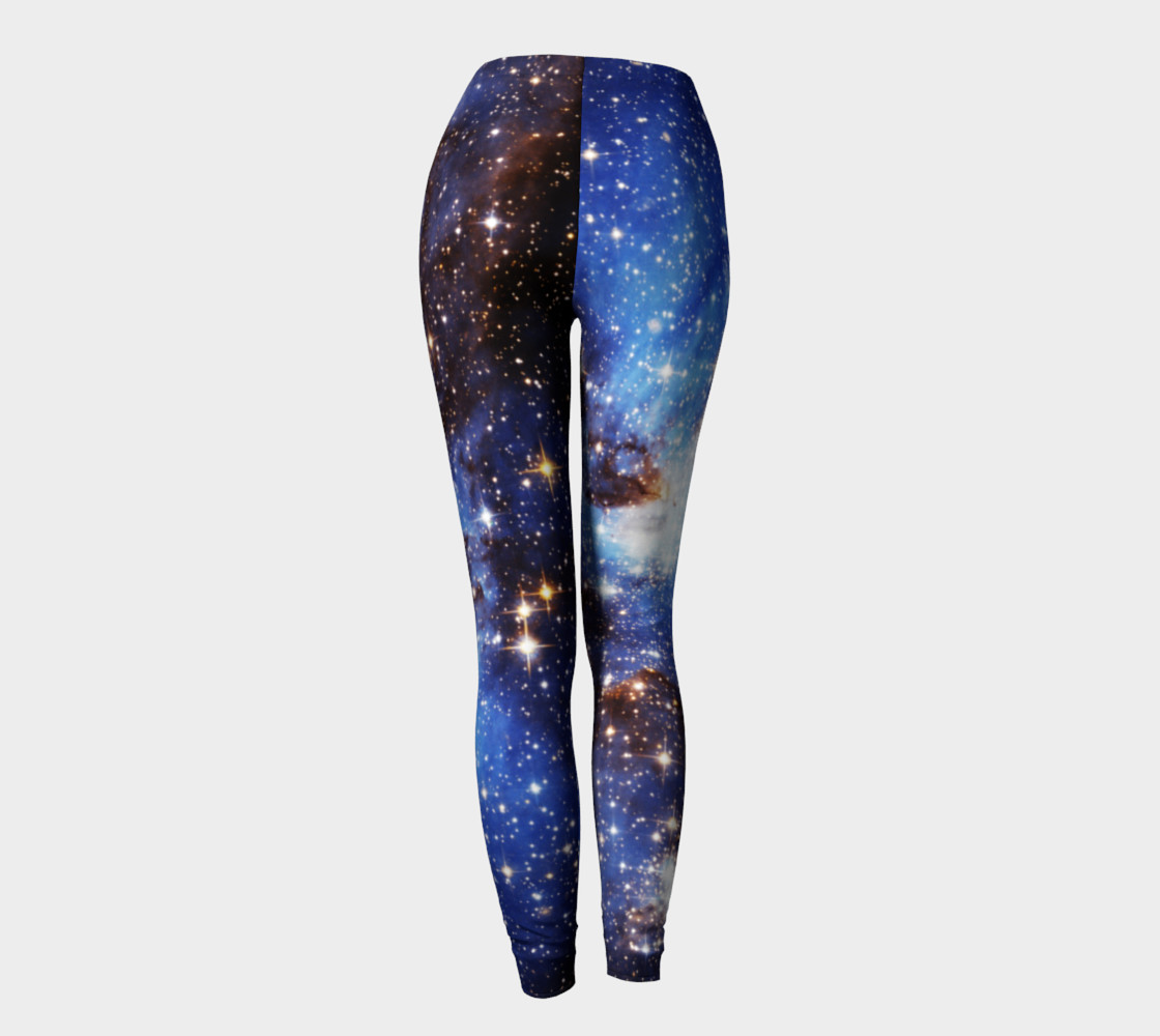 Aperçu de Blue Galaxy Leggings old #4