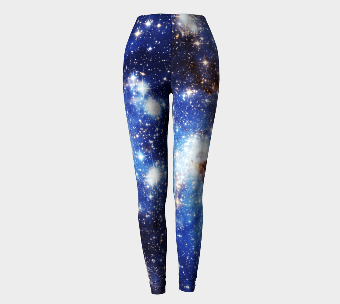 Aperçu de Blue Galaxy Leggings old #2