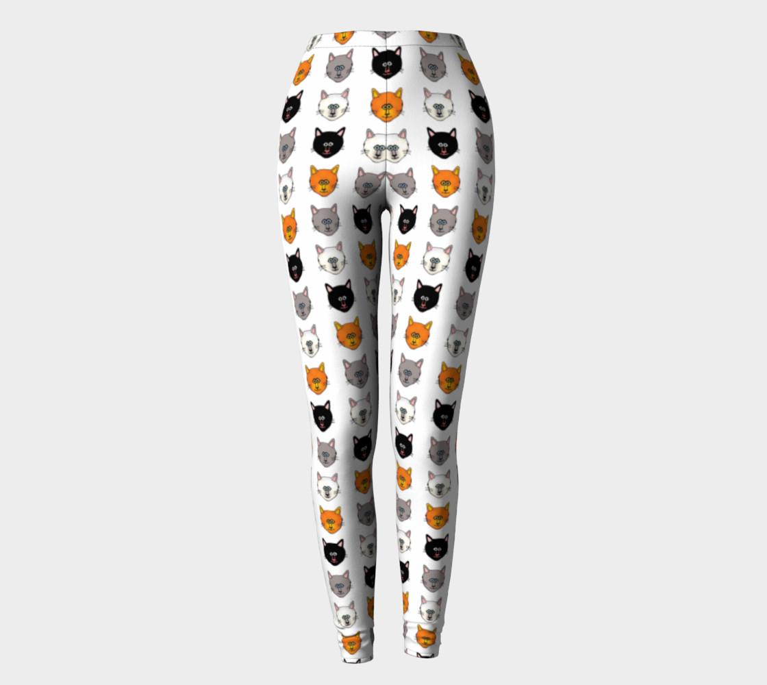 Cat lover leggings preview #2