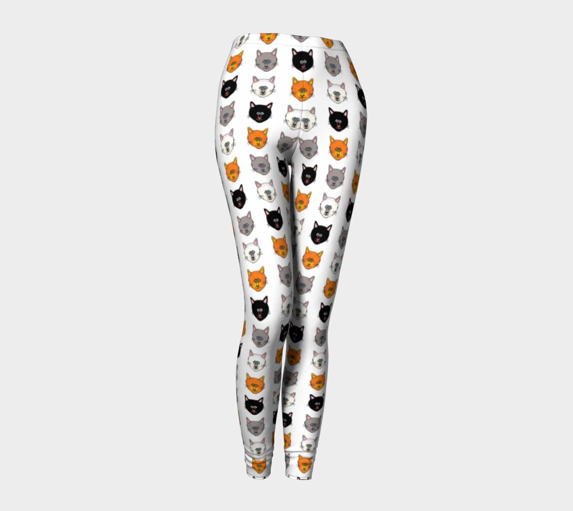Cat lover leggings preview #1