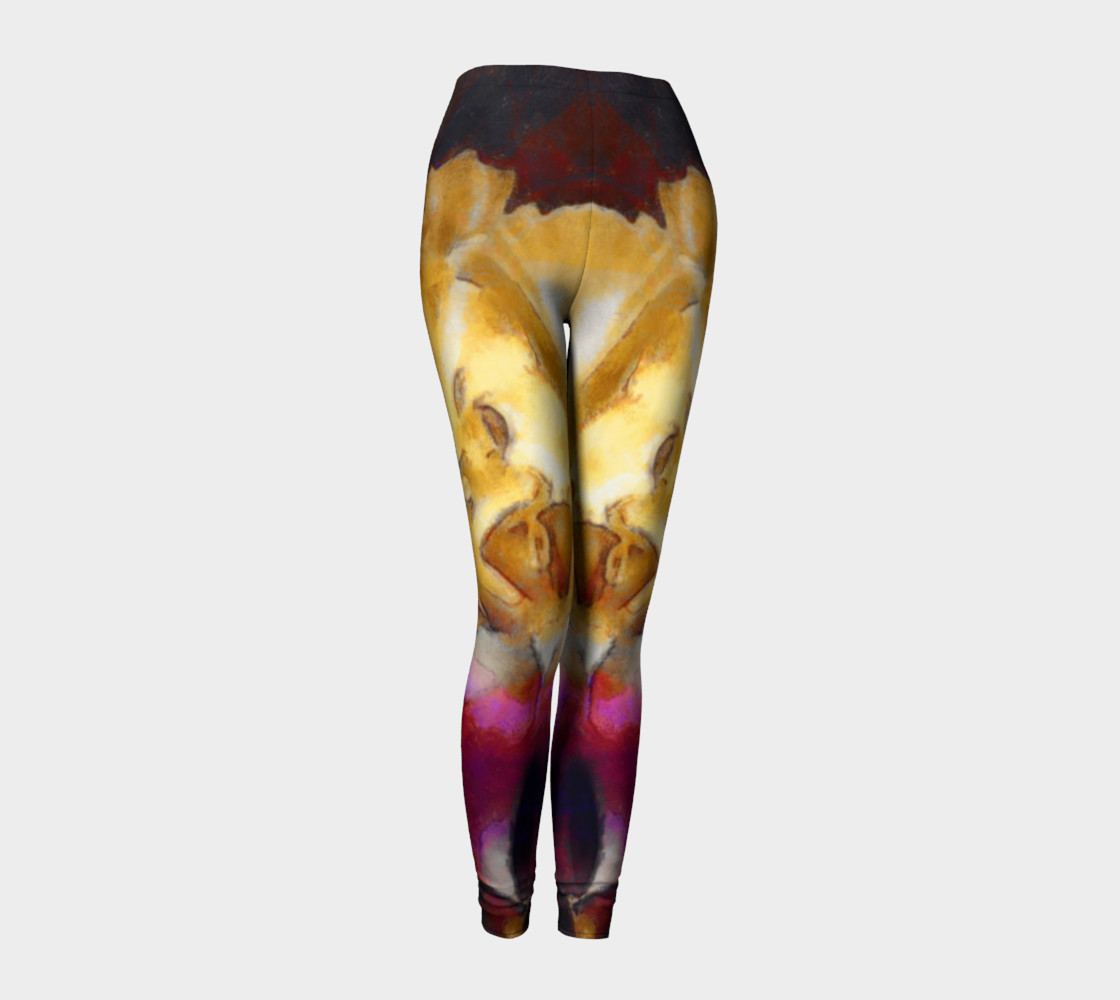Yoga flare leggings preview #1