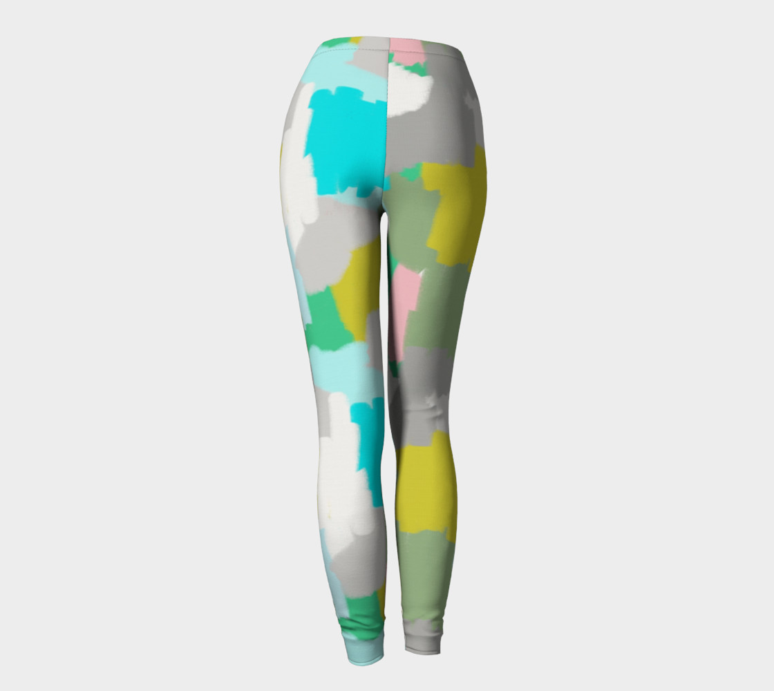 Me and You Mingled Artist Leggings preview #4