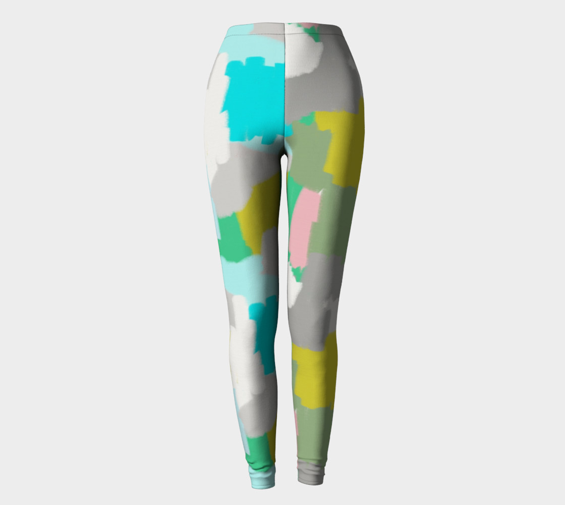 Me and You Mingled Artist Leggings preview #2