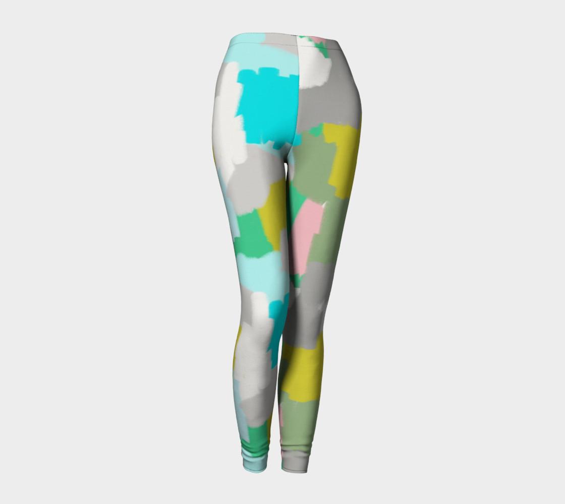 Me and You Mingled Artist Leggings preview #1