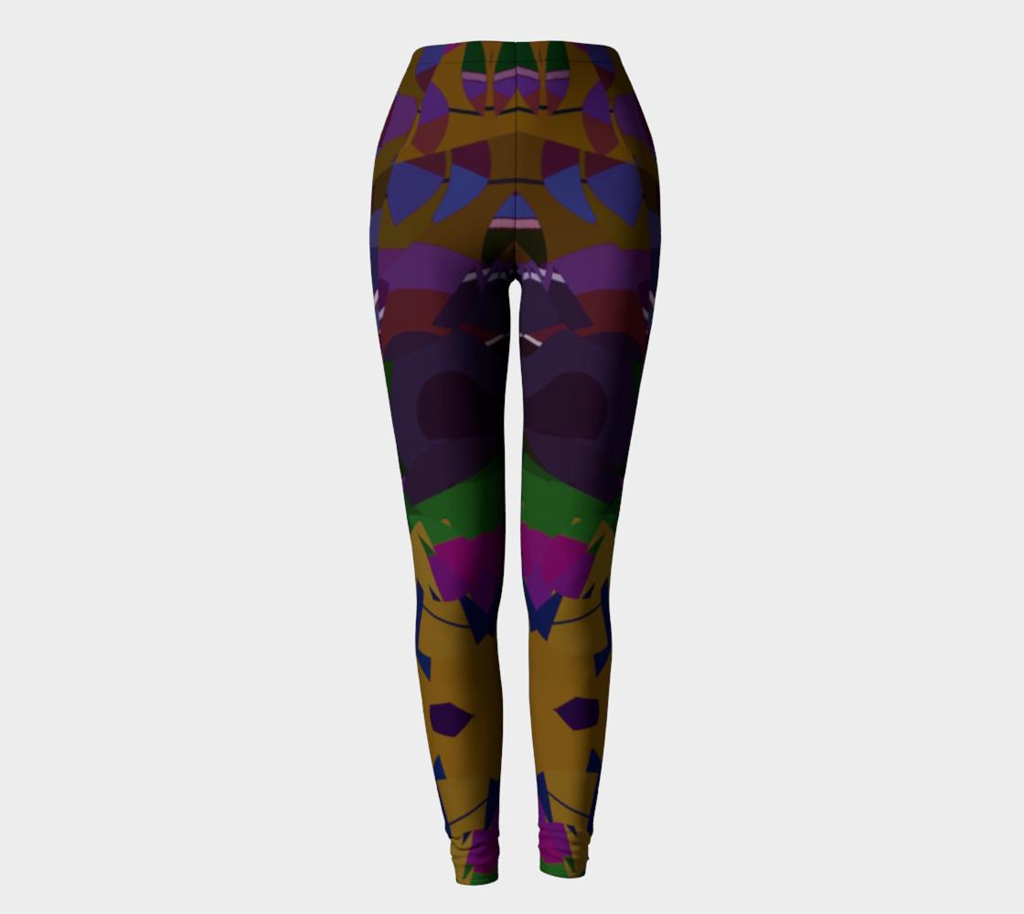 Confetti Geometric Pattern All Over Print leggings  preview #2