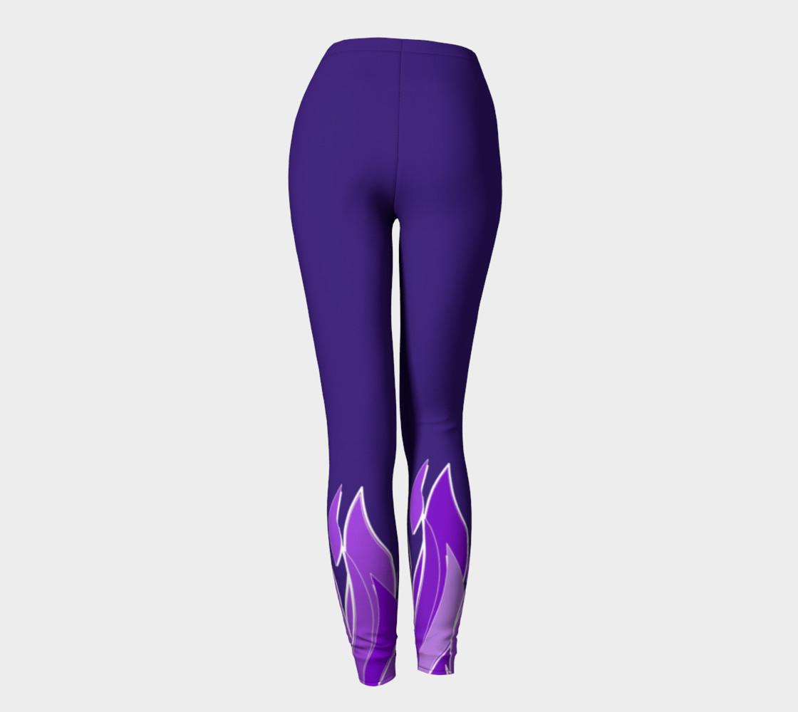 Violet Flame Leggings preview #4