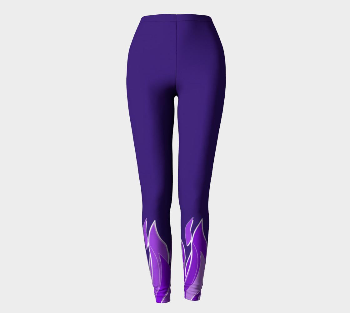 Violet Flame Leggings preview #2