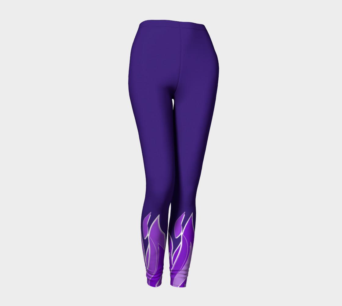 Violet Flame Leggings preview #1
