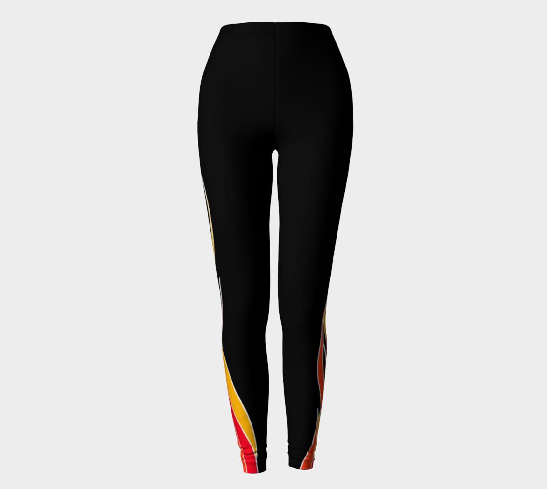 Flaming Leggings preview #2