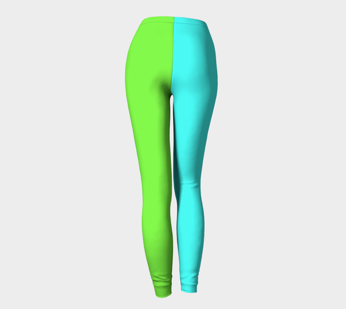 Minty Lime Leggings preview #4