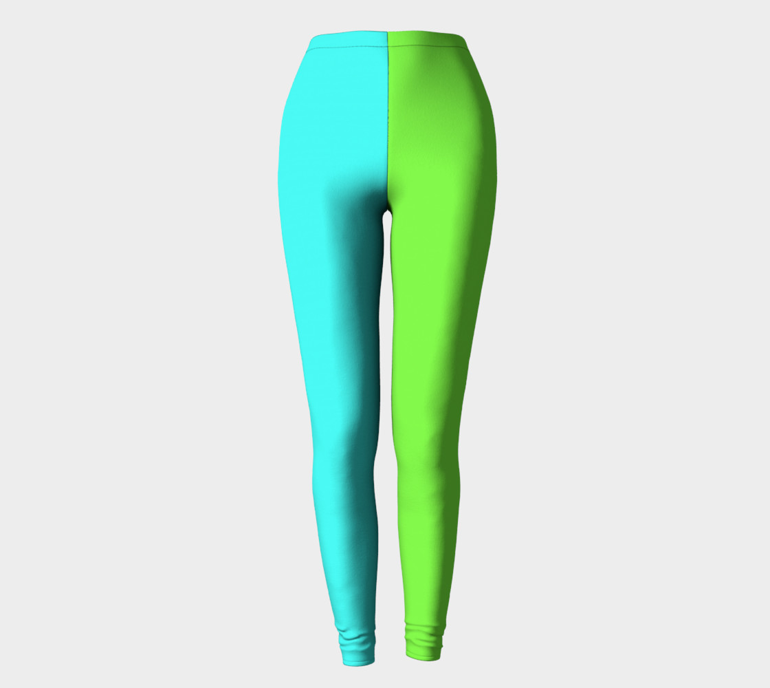 Minty Lime Leggings preview #2