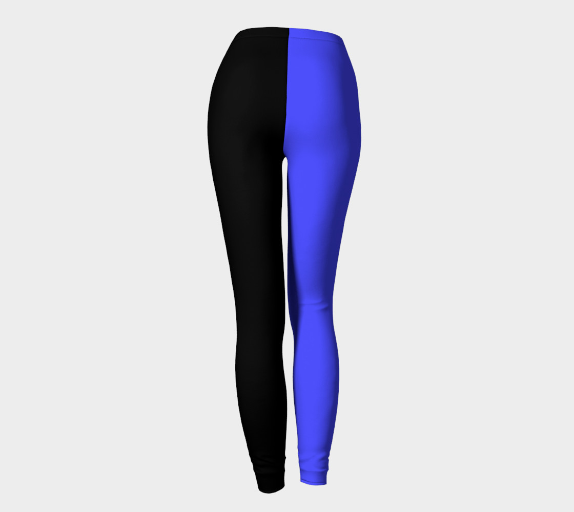 Midnight Cobalt Leggings preview #4