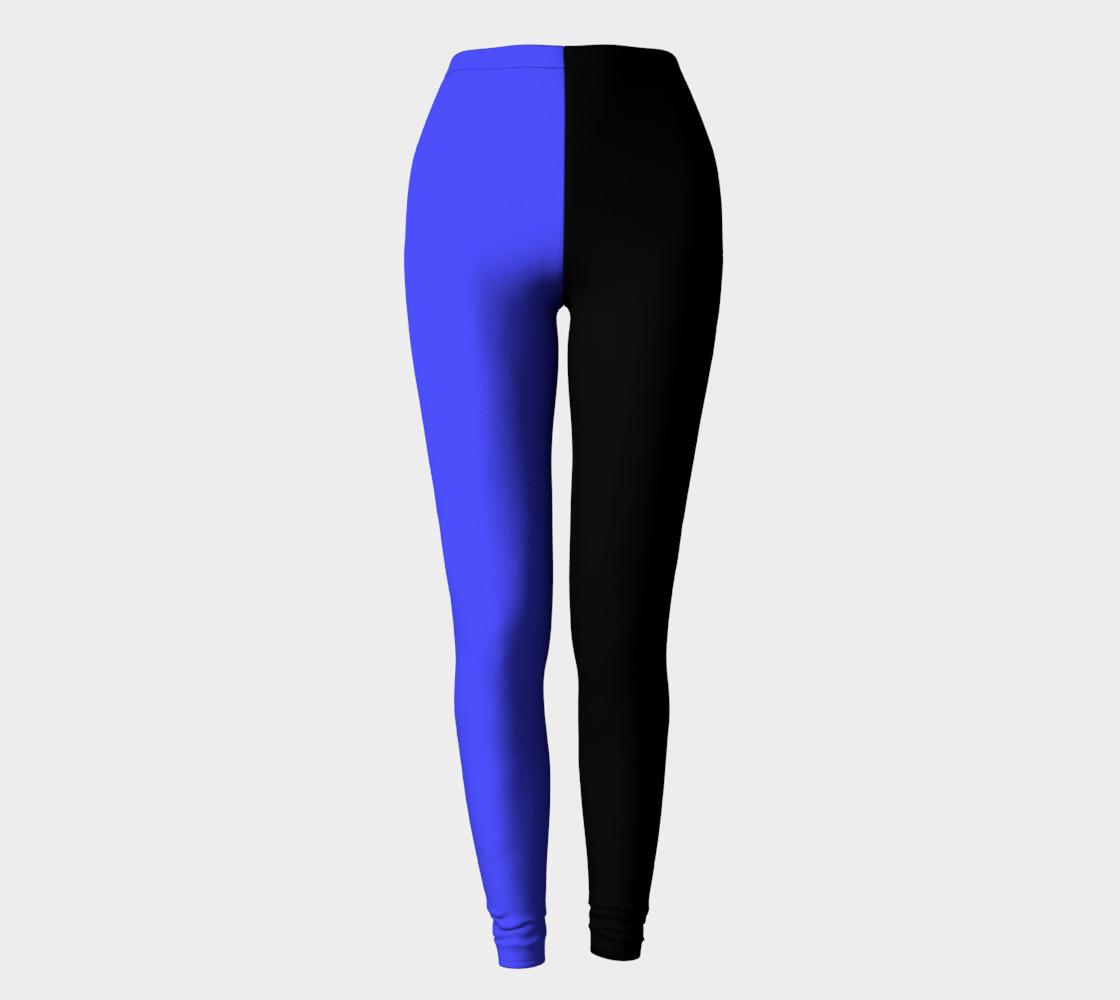 Midnight Cobalt Leggings preview #2