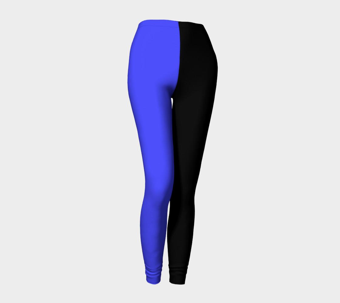 Midnight Cobalt Leggings preview #1