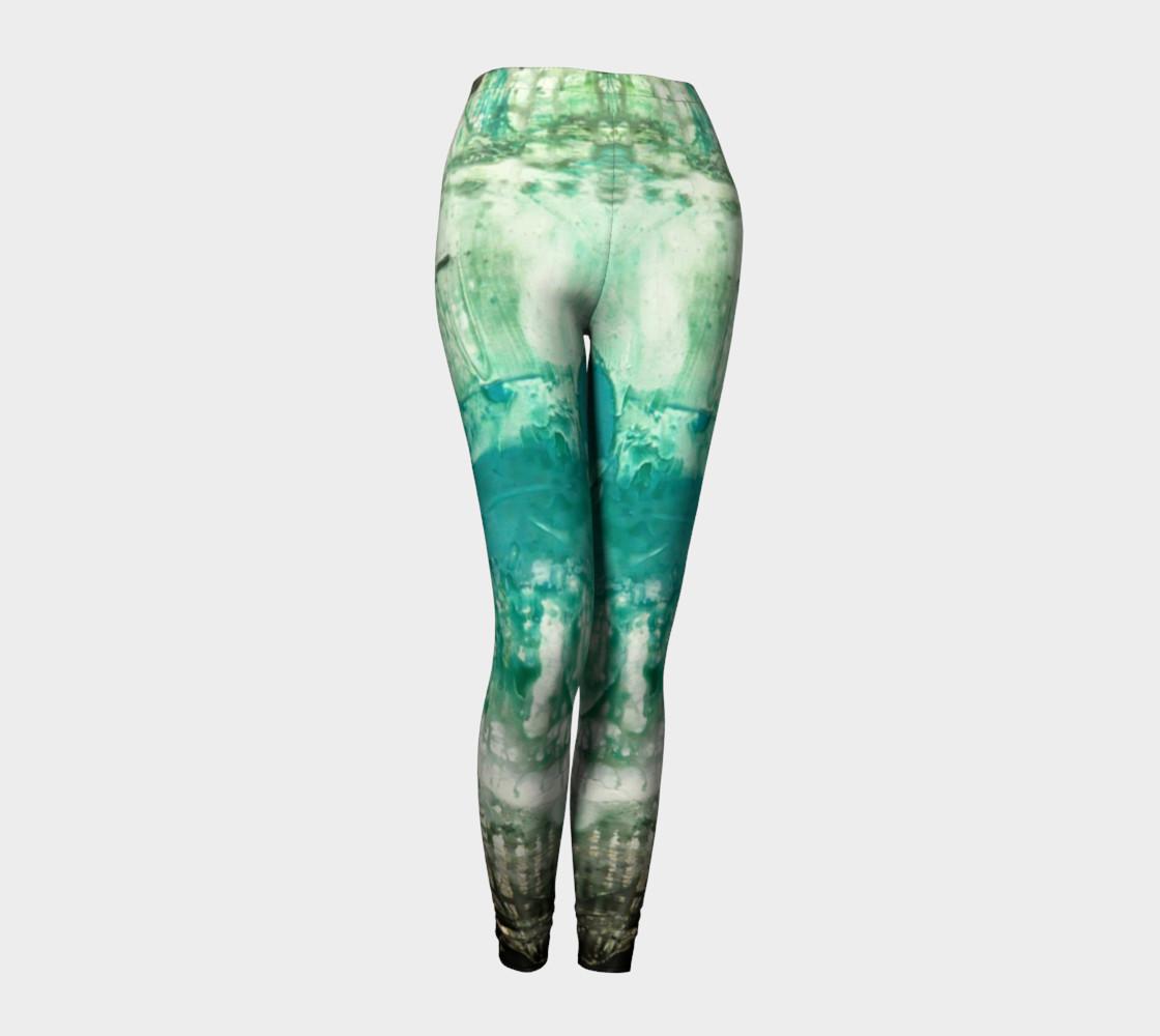 Matt LeBlanc Art Leggings - Design 006 preview #1