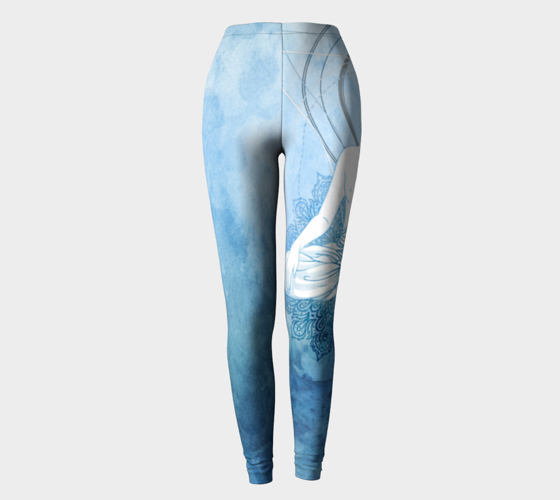Blue Buddha Leggings preview #2