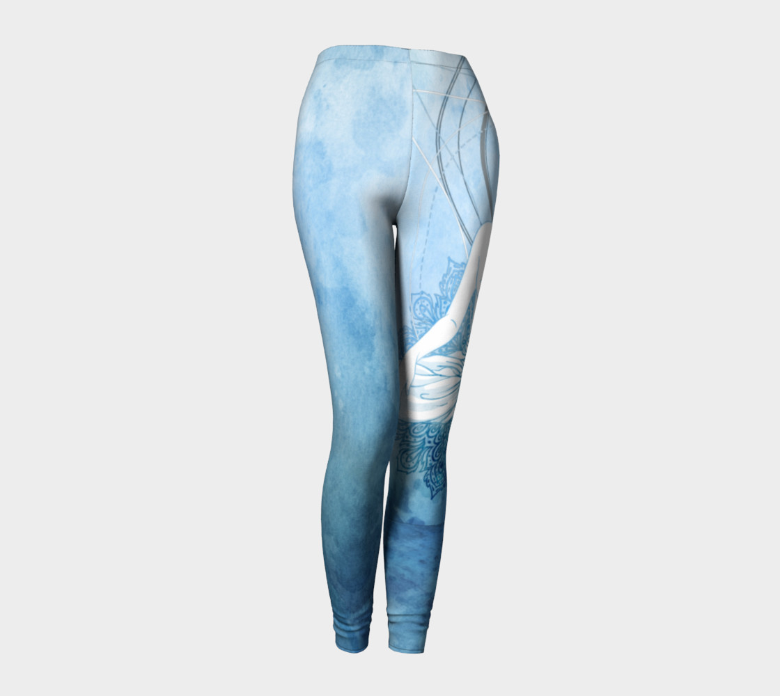 Blue Buddha Leggings preview #1