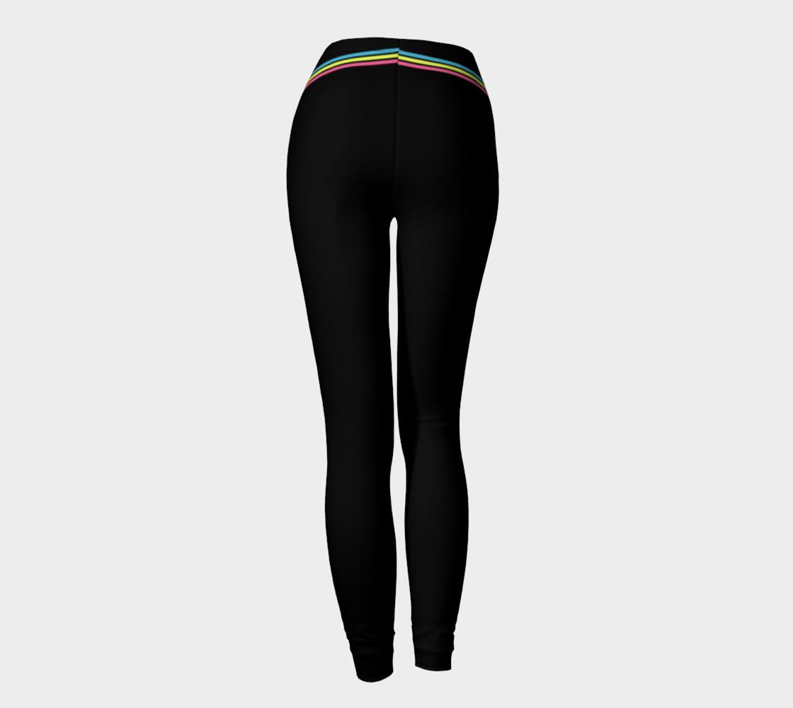 Pastel Stripes Leggings preview #4