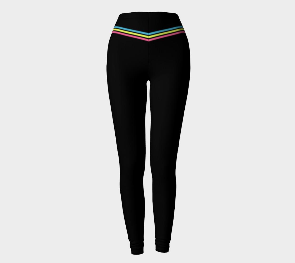 Pastel Stripes Leggings preview #2